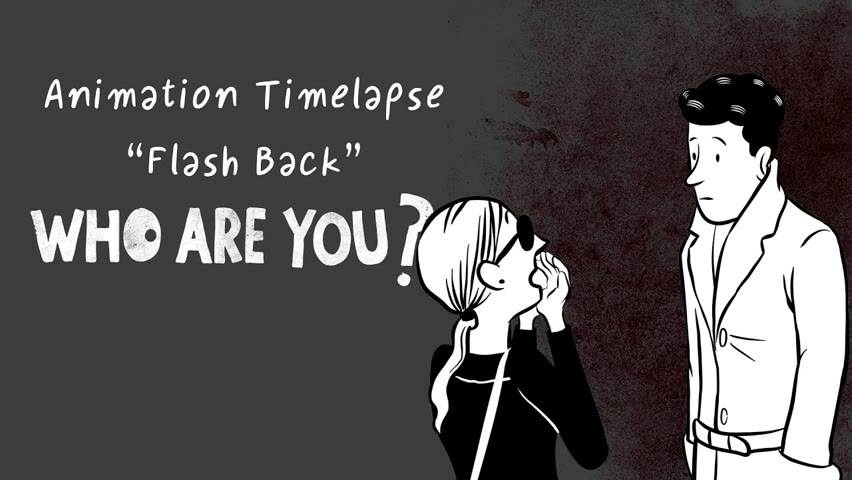 """Timelapse """"Flashback"""", of the short-film """"Who are you?"""""""