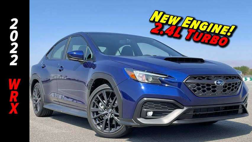 Subaru's All- New 2022 WRX | First Look On And Off The Track!