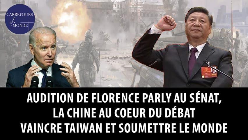 Audition de Florence Parly au sénat, la Chine au coeur du débat - Vaincre Taiwan, soumettre le monde