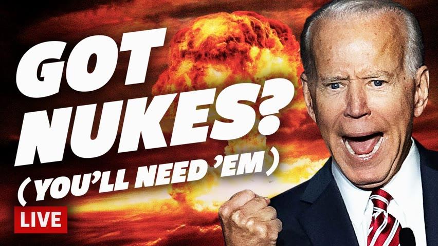 Biden Threatens To Nuke Patriots (Blows Up Dem Narrative Instead)