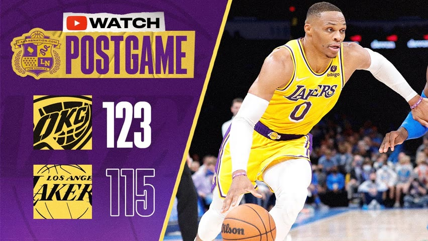 Lakers Give Thunder First Win Of Season In Massive Blunder
