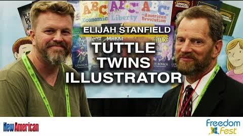 Tuttle Twins Illustrator Elijah Stanfield | FreedomFest 2021