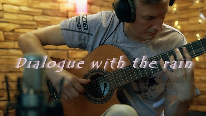 Dialogue with the rain|Guitar Fingerstyle+TUTORIAL