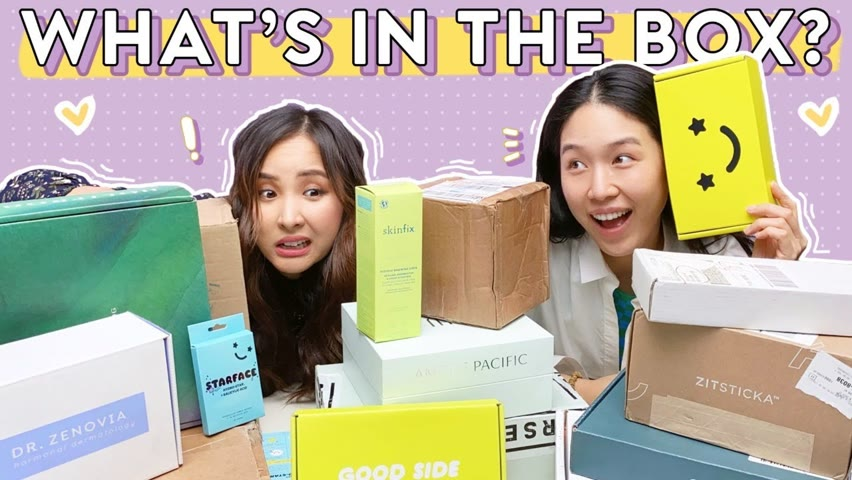 HUGE UNBOXING + FIRST IMPRESSIONS: ALL NEW SKINCARE GOODIES! 😍