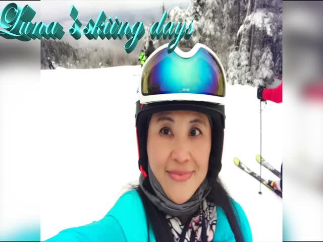 Luna's skiing days---佛蒙特滑雪场/An Angel Of This World(天使在人间第1期)