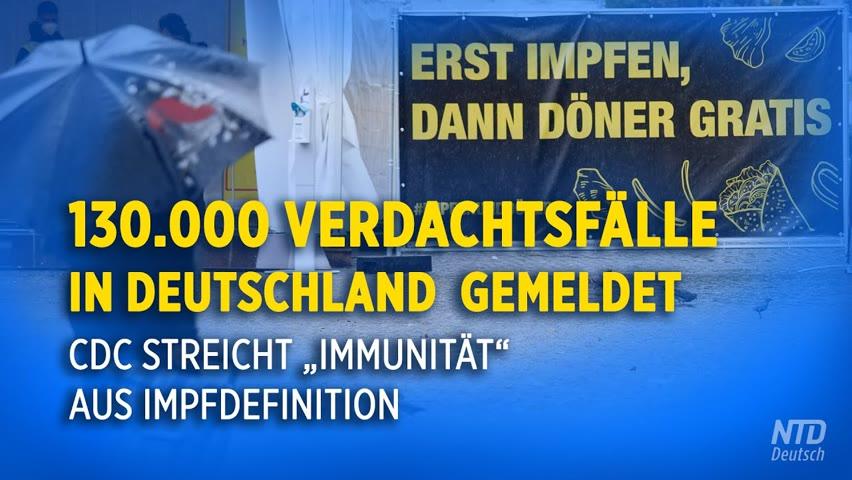 """US-Gesundheitsbehörde streicht """"Immunität"""" aus Impfdefinition – Deutschland startet Corona-Impfwoche"""