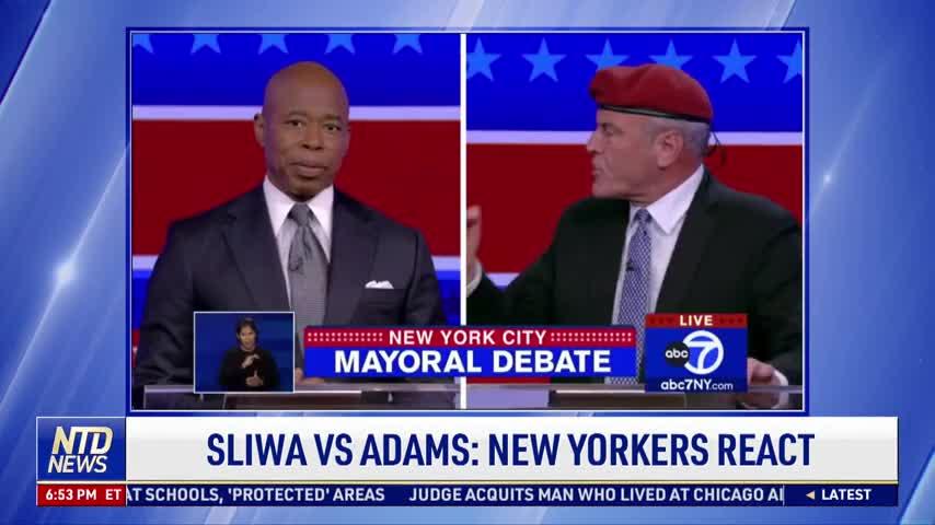 Sliwa vs Adams: New Yorkers React