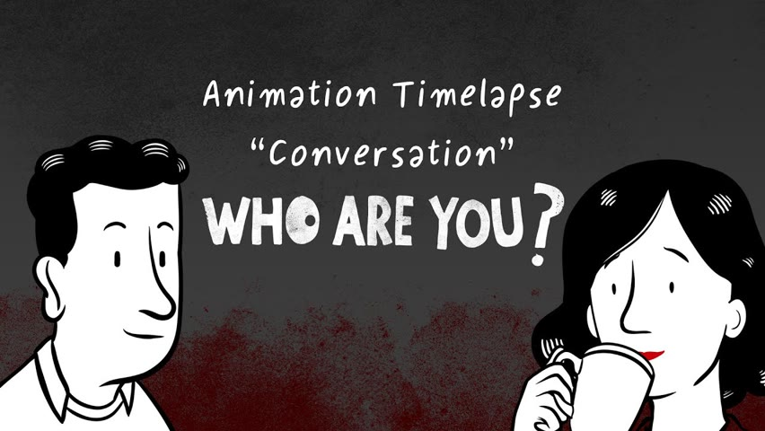 """Timelapse """"Conversation"""", of the short-film """"Who are you?"""""""