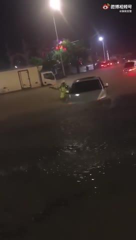 广东省深圳市大暴雨