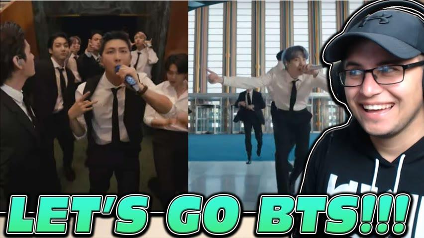 "[CC] [SUBTITLES] BTS KILLED IT!!! BTS - ""Permission to Dance"" United Nations 2021 REACTION"