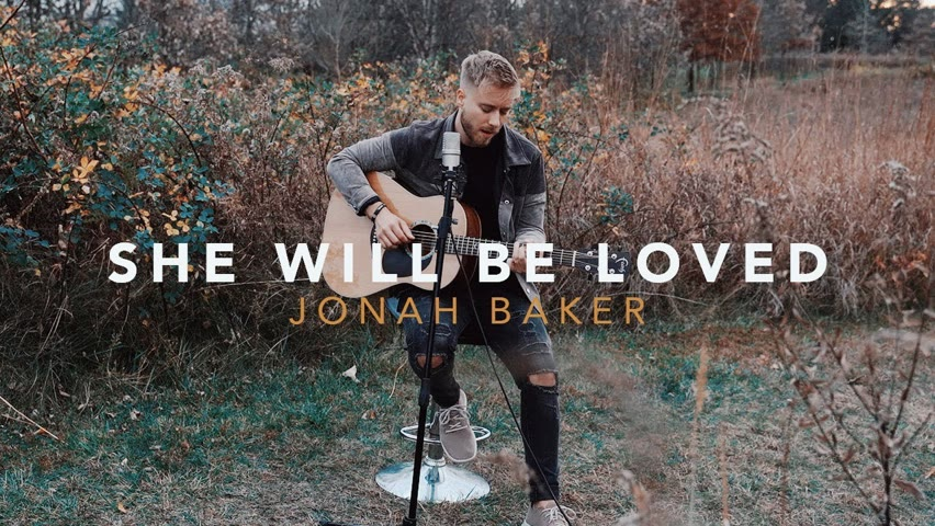 She Will Be Loved - Maroon 5 (Acoustic Cover by Jonah Baker)
