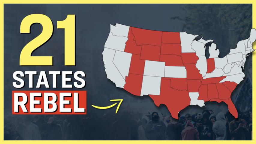 19 Governors and 2 Attorney Generals Resist Biden's Vaccine Mandates