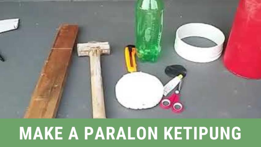 Make a Paralon Ketipung
