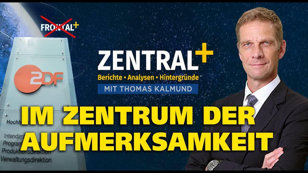 ZDF sieht Verwechlungsgefahr: frontalPlus bekommt einen neuen Namen – Willkommen bei zentralPlus