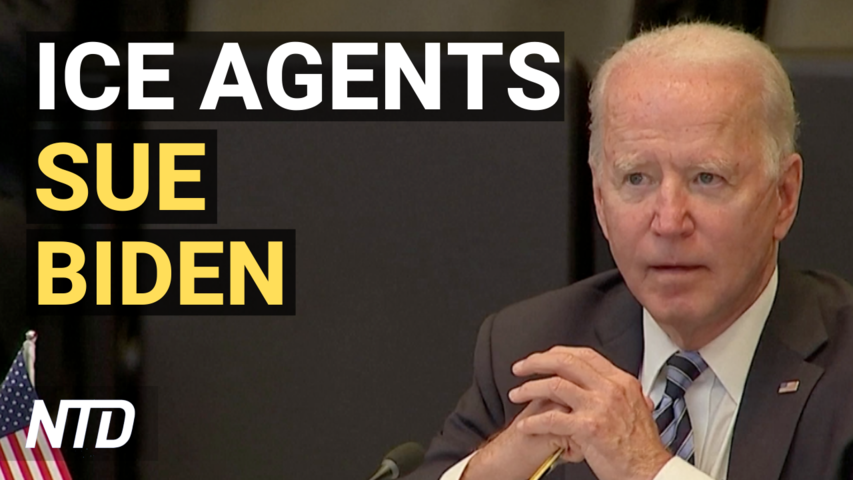 ICE Agents Sue Biden Over Deportation Rules; AG Garland Pauses All Federal Executions | NTD