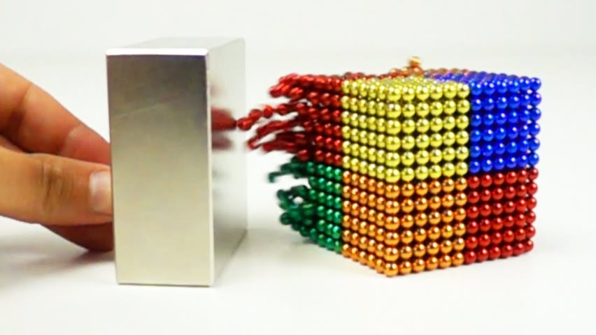 Magnetic Balls VS Monster Magnets in Slow Motion   Magnetic Games