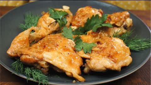 Baking soda changed everything! CHICKEN IN JEWISH | Very tasty chicken - I haven't tried it tastier