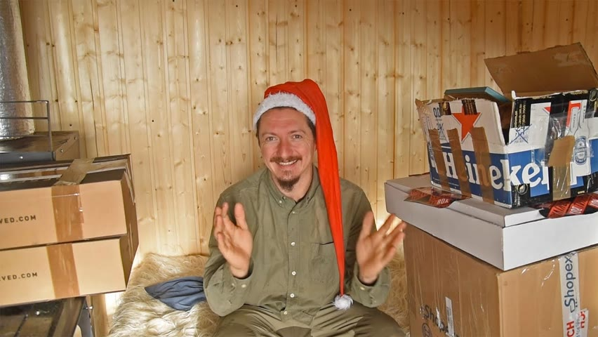 Cadouri de Crăciun la cabană