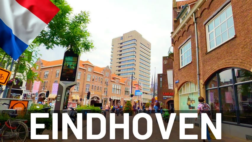 EINDHOVEN Driving Tour 2021 🇳🇱 Holland || 4K Video Tour of Eindhoven