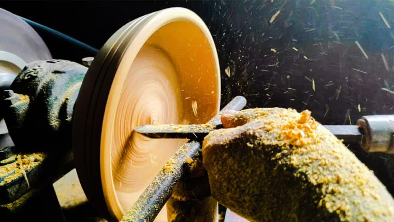 Woodturning  - Gliricidia sepium Bowl