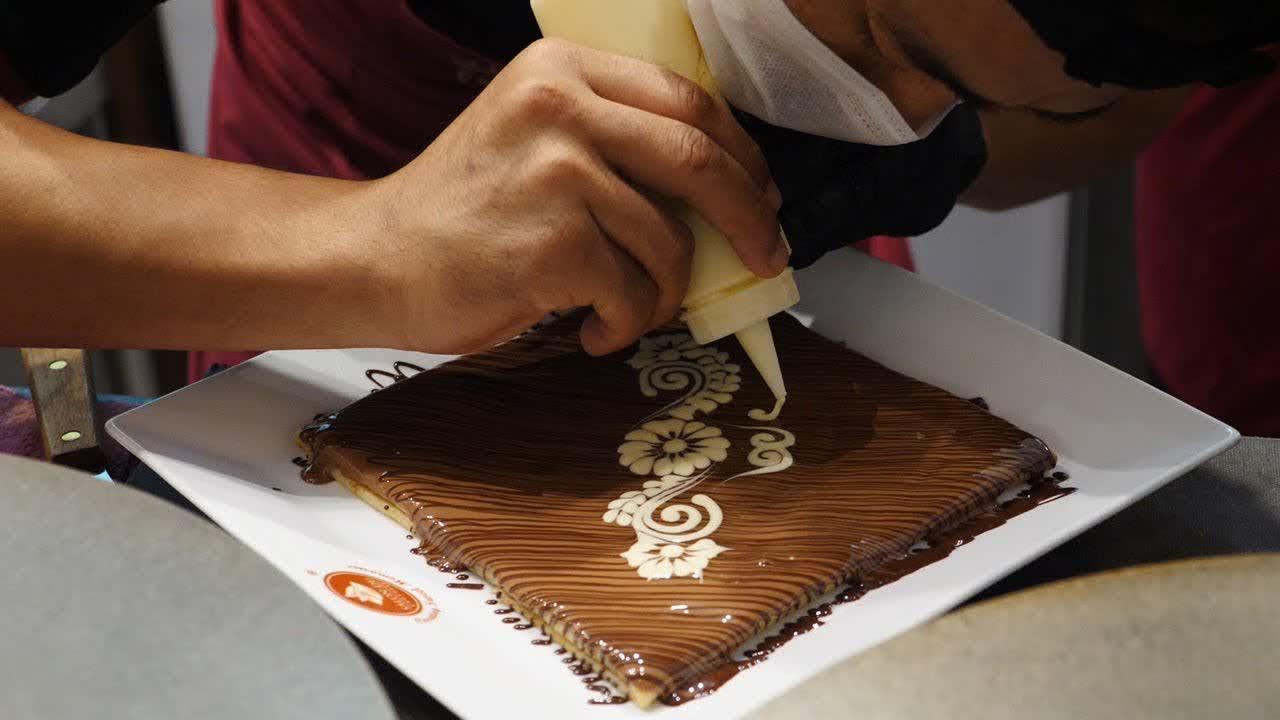 라메종뒤쇼콜라 초콜렛 아트 Art of Chocolate at La Maison du Chocolat - Malaysian Street Food