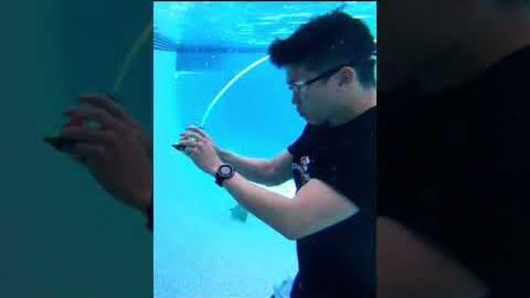 Underwater Rubik's Solves (Hold Your Breath!)