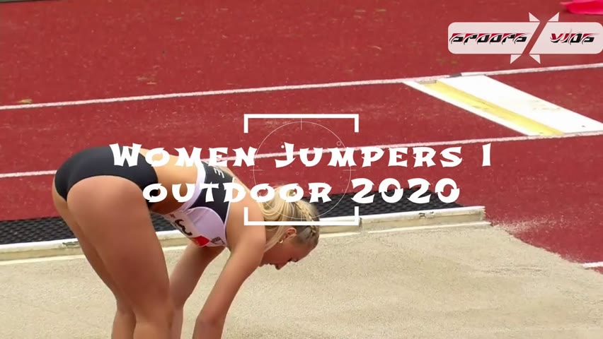 Women Long Jumpers   Outdoor Athletics 2020   Various Moments   ᴴᴰ