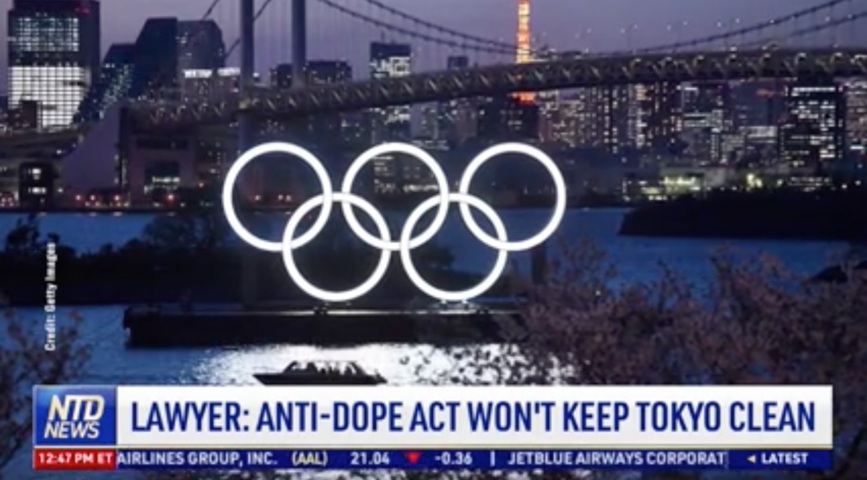 Lawyer: Anti-Doping Act Won't Keep Tokyo Clean