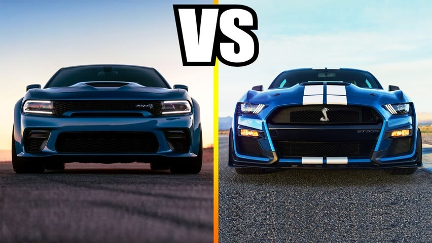 2020 Dodge Charger SRT Hellcat Widebody VS 2020 Ford Mustang Shelby GT500