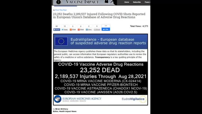 Victims of covid 19 Vaccine