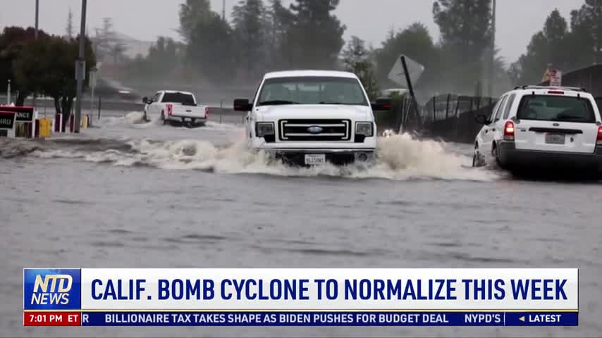 California Bomb Cyclone to Normalize This Week