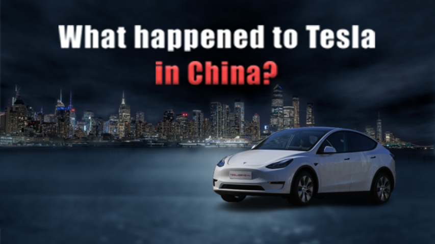 What happened to Tesla in China?