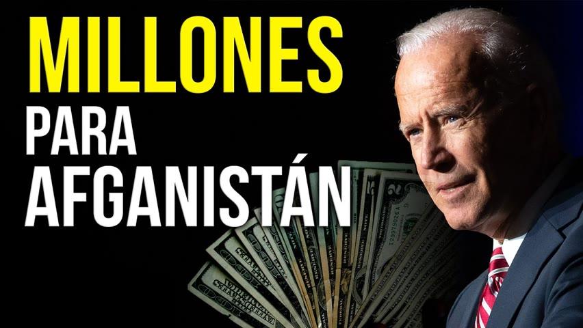 Envían ayuda humanitaria 64 millones de dólares al Afganistán mientras es controlado por terroristas
