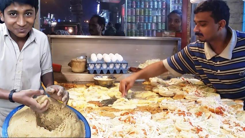 Famous Bun kabab in Karachi   Super Fast Burger Making   Street food in Pakistan