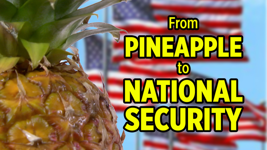 From Pineapple to National Security