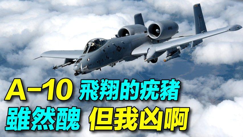 A-10攻擊機,再戰10年!美國計畫退役42架A-10攻擊機;海灣戰爭A-10摧毀了900多輛伊拉克坦克、2000餘輛軍用車輛。 | #探索時分