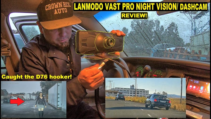 Every Car in the World Needs This! Lanmodo Vast Pro Hi-Tech Night Vision Dash Cam Crown Rick Auto