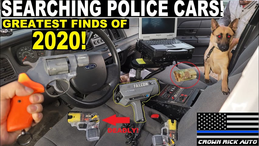 Searching Police Cars Greatest Finds of 2020!   Crown Rick Auto