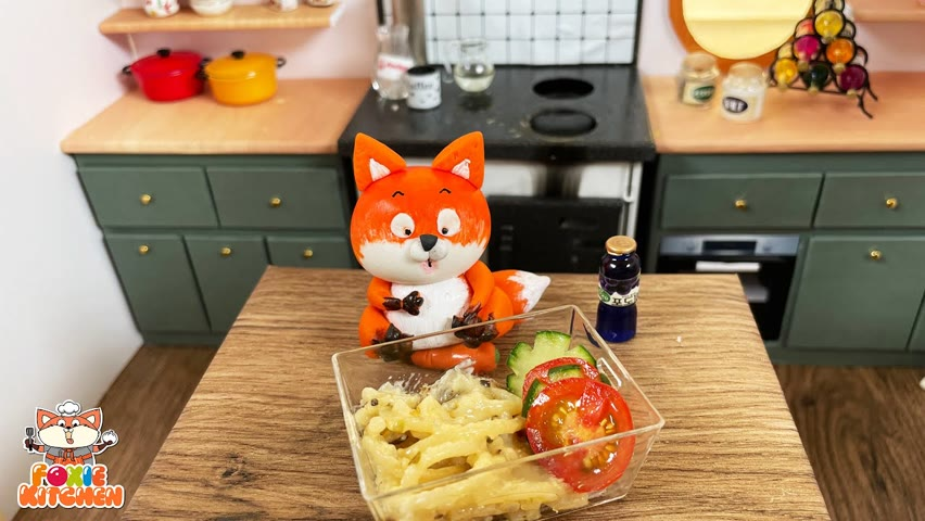 [ENGSUB] Lunch box #5 - Wednesday Bento   ASMR Mini Cooking