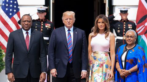 In Photos: President Donald Trump's Week, Aug. 27–31