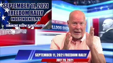 September 11, 2021 Freedom Rally   The Bulldog Show