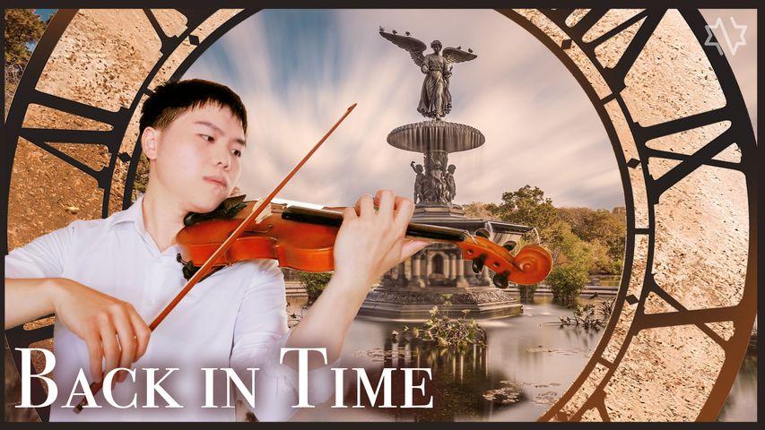 ♫ 擁抱太陽的月亮 OST 時間倒流 Back in time -Lyn Violin Cover by Garret Peng|Binary Star 雙子星