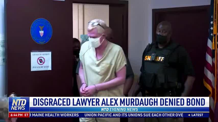 Disgraced Lawyer Alex Murdaugh Denied Bond