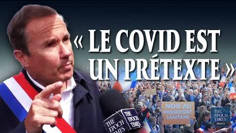 Nicolas Dupont-Aignan : « Des oligarques veulent tenir le monde »