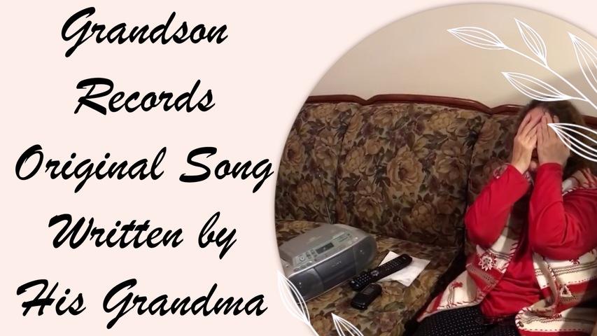 Grandson Records Original Country Song Written by His Grandma || ViralHog
