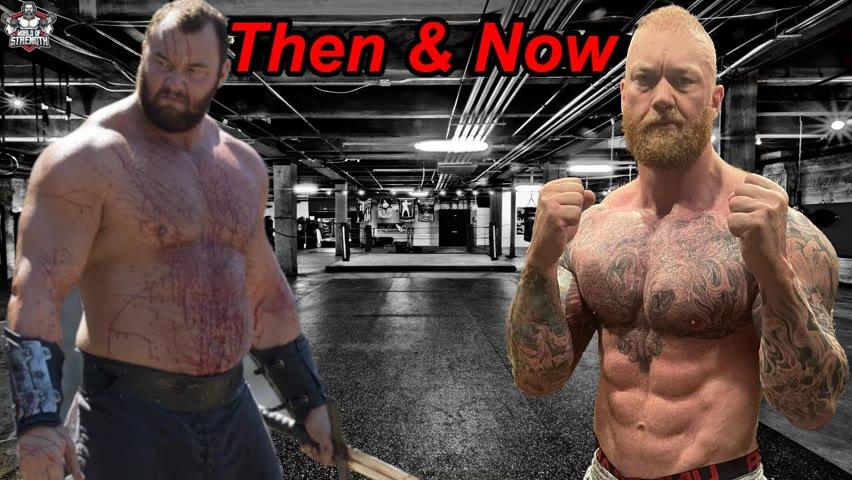 The Mountain Hafþór Júlíus Björnsson Then & Now
