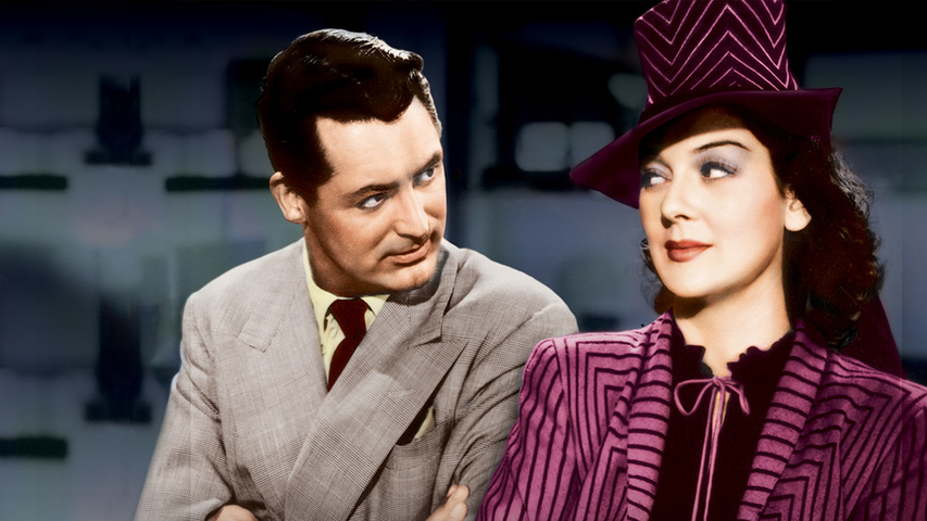 His Girl Friday Full Movie With Cary Grant & Rosalind Russell