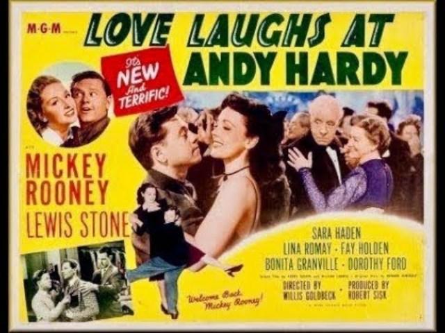 Love Laughs At Andy Hardy - Full Movie | Mickey Rooney, Lewis Stone, Sara Haden, Bonita Granville