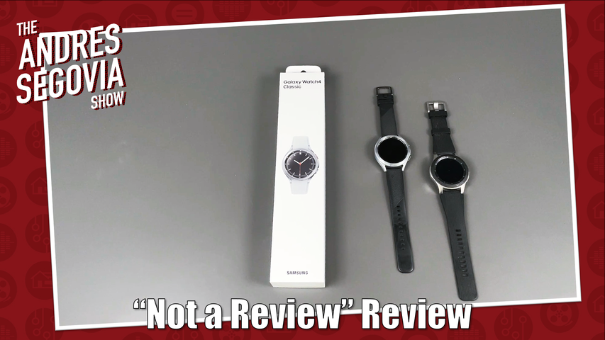 Samsung Watch 4 Classic Review. Kind Of.