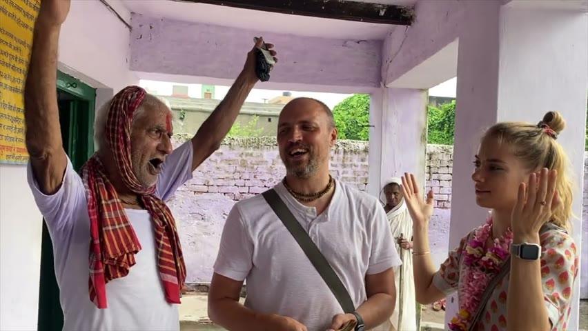 Ekadashi seva at Radha kund!